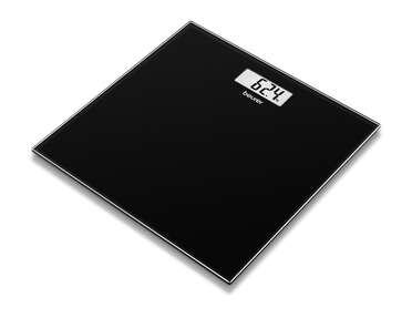 Pèse-personne en verre GS 10 noir Image du produit