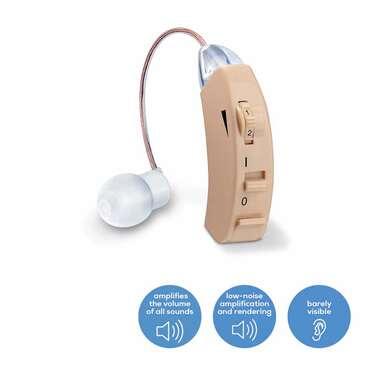 Amplificateur auditif HA50 de Beurer Image du produit