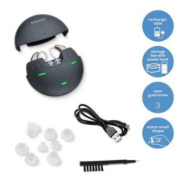 Amplificateur auditif HA70Paar de Beurer Image du produit