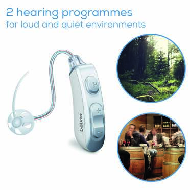 Beurer HA 85 Pair hearing amplifier Product picture
