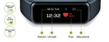 Beurer Aktivitätssensor AS 99 Pulse Bluetooth® Produktbild