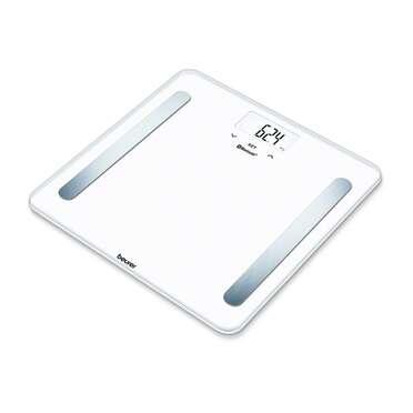 Pèse-personne impédancemètre BF600 pure blanc de Beurer Image du produit