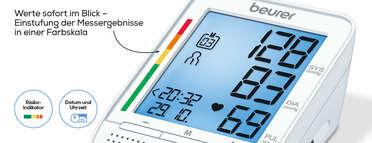 Beurer Sprechendes Oberarm-Blutdruckmessgerät BM 49 Produktbild