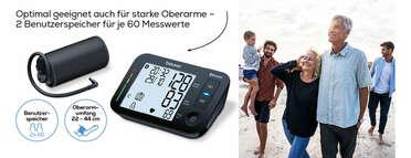 Beurer Oberam-Blutdruckmessgerät BM 54 Produktbild