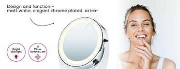 BS 49 illuminated cosmetics mirror