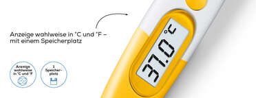 Beurer Express-Thermometer BY 11 Frog Produktbild