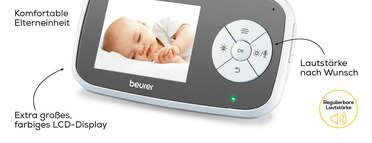 Beurer BY 110 Video-Babyphone Produktbild