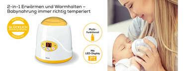 Beurer Babykost- und Fläschchenwärmer - BY 52 Produktbild