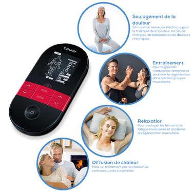 Appareil TENS/EMS numérique EM59 de Beurer avec fonction de chaleur Image du produit