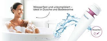 Beurer Gesichtsbürste FC 95 Pureo Deep Cleansing Produktbild
