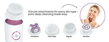Beurer FC 95 Pureo Deep Cleansing facial brush Product picture