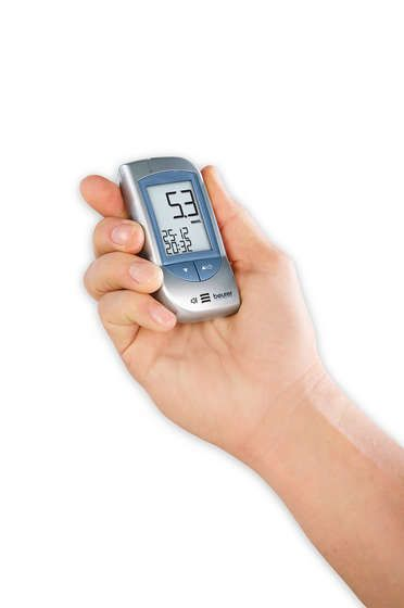 <p>Blood glucose monitors</p>