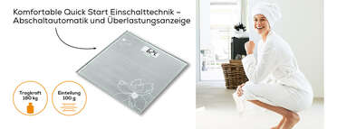Beurer Glaswaage GS 10 Produktbild