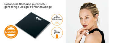 Beurer Glaswaage GS 10 black Produktbild