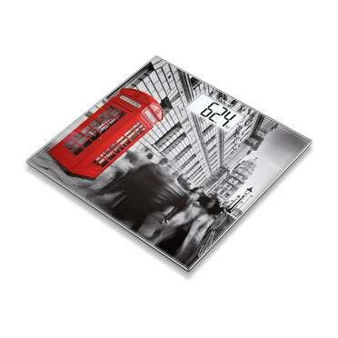 Pèse-personne en verre GS203 London de Beurer Image du produit