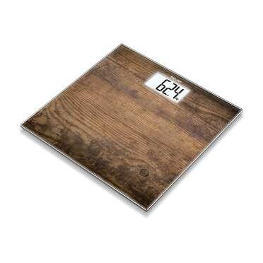 Báscula de vidrio de Beurer - GS 203 Wood Imagen del producto