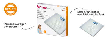 Beurer Glaswaage - GS 206 Squares Produktbild