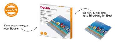 Beurer Boats Glaswaage GS 215 Produktbild