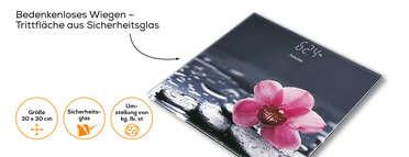 Beurer Glaswaage GS 215 Relax Produktbild