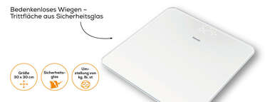 Beurer Glaswaage - GS 225 Produktbild