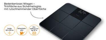 Beurer Glaswaage - GS 235 Produktbild