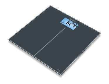 Glass bathroom scales | Weight and diagnosis