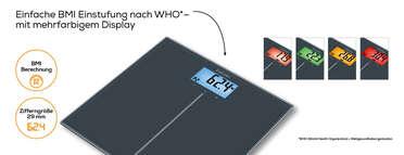 Beurer Glaswaage - GS 280 BMI Genius Produktbild