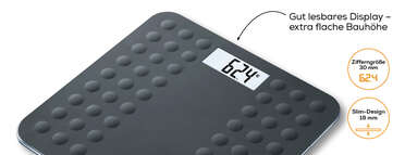 Beurer Glaswaage - GS 300 black Produktbild