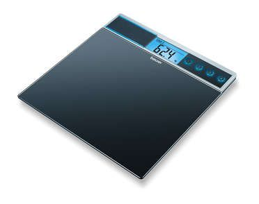 <p>Glass bathroom scales</p>