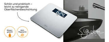 Beurer Edelstahlwaage GS 405 SignatureLine Produktbild