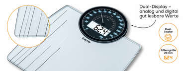 Beurer Glaswaage - GS 58 Produktbild