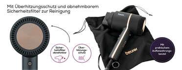 Beurer HC 35 Kompakt-Haartrockner Produktbild