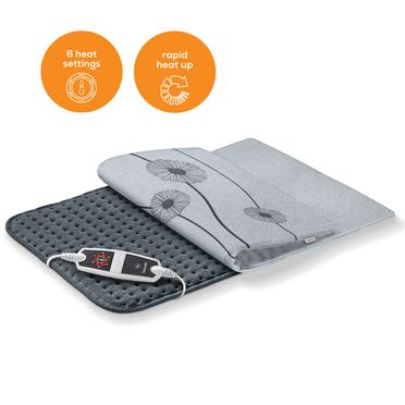 <p>Extra weich und anschmiegsam - das Heizkissen mit 6 Temperaturstufen bietet f&uuml;r jedermann die richtige W&auml;rmeeinstellung.</p>  <p>Heizkissen HK 125 heating pad</p>