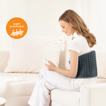 <p>Bauch-R&uuml;cken-Heizkissen | Flexible Heating | Heating pad | Heat pad | Heizk&ouml;per | Stomach &amp; back heat pad |</p>