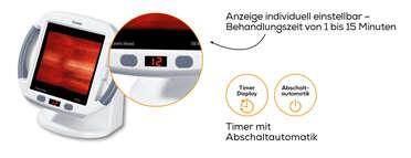 Beurer Infrarot-Wärmestrahler IL 50 Produktbild
