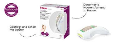 Beurer dauerhafte Haarenfernung IPL Pure Skin Pro Produktbild