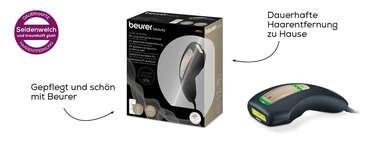 Beurer dauerhafte Haarenfernung IPL PureSkinPro Black Produktbild