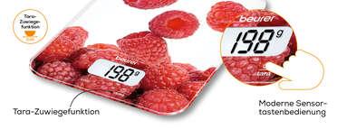 Beurer Küchenwaage - KS 19 Berry Produktbild