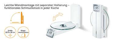 Beurer Wandküchenwaage - KS 52 Produktbild