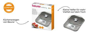 Beurer KS 26 Küchenwaage Produktbild