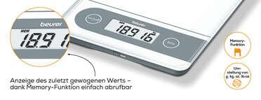 Beurer Haushaltswaage - KS 59 XXL Produktbild