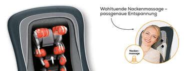 Beurer MG 315 Shiatsu Sitzauflage Produktbild