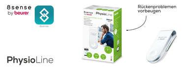 Der Beurer PC 100 PostureControl Haltungstrainer Produktbild