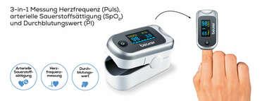 Beurer Pulsoximeter PO 40 Produktbild