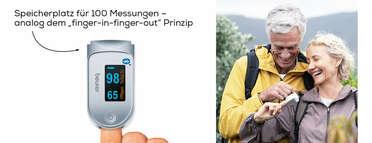 Beurer Pulsoximeter PO 60 Bluetooth® Produktbild