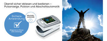 Beurer Pulsoximeter PO 80 Produktbild