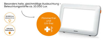 Beurer Tageslichtlampe TL 20 Produktbild