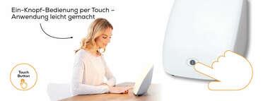 Beurer Tageslichtlampe TL 41 Touch Produktbild