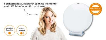 Beurer Tageslichtlampe TL 50 Produktbild