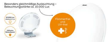 Beurer Tageslichtlampe TL 70 Produktbild
